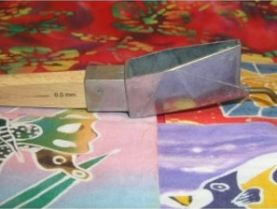 Die Cast Aluminium Batik Tjanting Tool 1mm Spout